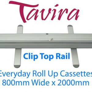 Tavira Everyday Roll Up Banner Cassette 800 Clip - Supplied in boxes of 6