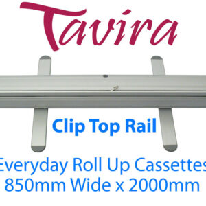 Tavira Everyday Roll Up Banner Cassette 850 Clip - Supplied in boxes of 6