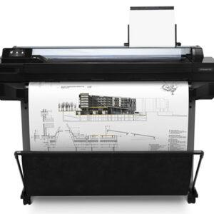 "CQ890C HP Designjet T520 24"" Wi-Fi Large Format CAD Printer"